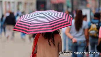 Clima cálido con chubascos tormentosos por la tarde, pronóstico para este viernes en Morelia - MiMorelia.com