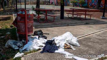 Abandonan material médico en la colonia Chapultepec Oriente de Morelia - MiMorelia.com