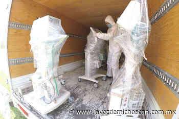 Recibe IMSS nuevo lote de ventiladores reacondicionados por el Tecnológico de Morelia - La Voz de Michoacán