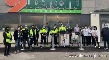 Vitorchiano, la spesa solidale trova spazio anche grazie ai dipendenti del supermercato locale - Il Messaggero