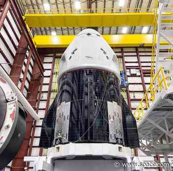 Watch live @ 1 pm ET! NASA, SpaceX briefing on Crew Dragon flight readiness