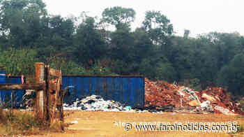Moradores reclamam do Lixão em Itaporanga - Farol Notícias