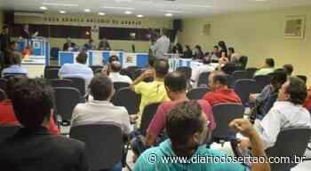 VÍDEO: Câmara de Itaporanga votará projeto que propõe reduzir salários de vereadores, prefeito e vice - Diário do Sertão