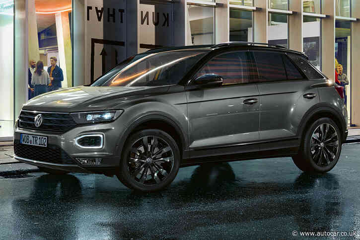Volkswagen T-Roc gains Black Edition trim