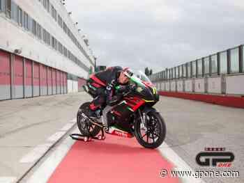 Tommaso Marcon porta in pista la Aprilia RS 250 SP ad Adria - GPone