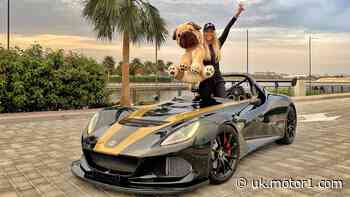 See rare Lotus 3-Eleven 430 in action with Supercar Blondie