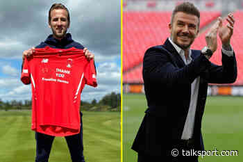 Tottenham ace Harry Kane compared to David Beckham by Ross Embleton after sponsoring Leyton Orient kits for - talkSPORT.com