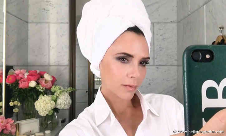 Victoria Beckham unveils stunning bathroom inside Cotswolds home with David Beckham - HELLO!