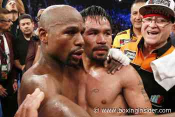 """Floyd Mayweather Tired of Fighters Calling Out Manny Pacquiao: """"Don't Chase Him, You Young Guys Chase Each Other"""" - BoxingInsider.com"""