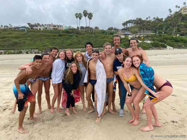Spring wrap-up Q&A: Dana Hills swimming coach turned 'hardest moment' into fun final day together
