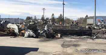 Fire destroys lobster processing plant in northeastern New Brunswick