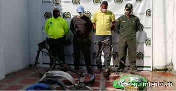 Por desbalijar motos robadas, capturan a dos hombres en El Retén - Seguimiento.co