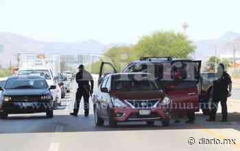 Federales instalan retén en la carretera a Aldama - El Diario