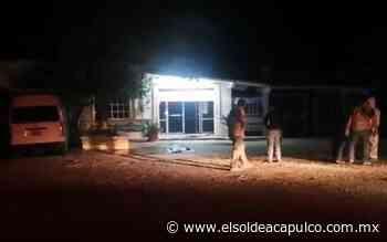 Hombres armados disparan contra fachada de Semefo en Iguala - El Sol de Acapulco