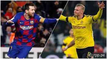 Erling Haaland: el único que iguala a Lionel Messi en las grandes ligas de Europa - RPP