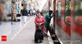 Tickets for special trains on Rajdhani routes can be bought 30 days in advance, at railway stations