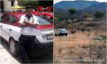 Hallan muerto a un taxista en Tehuantepec - www.nssoaxaca.com
