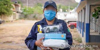 Oficiales de Tehuantepec reciben insumos sanitarios un mes después de aumentar contagios - El Imparcial de Oaxaca