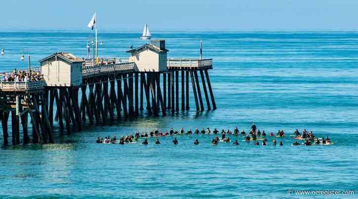 San Clemente paddle-out memorial held for Santa Cruz surfer killed in shark attack