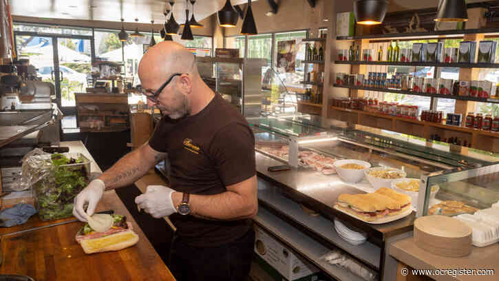 No pasta at the grocery? Local Italian restaurants like Il Barone in Newport Beach have your back