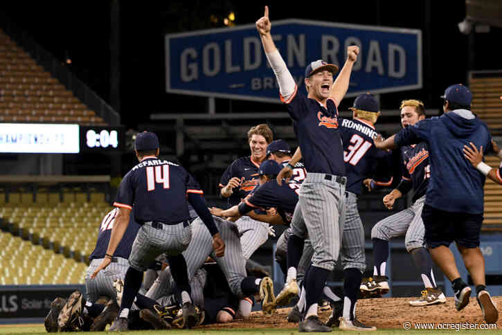 No CIF-SS baseball finals this year, but three O.C. coaches have good memories from last season's championship moments