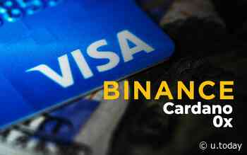 Binance.US Users Can Now Buy Cardano (ADA) and 0x (ZRX) in Seconds with Visa Card - U.Today