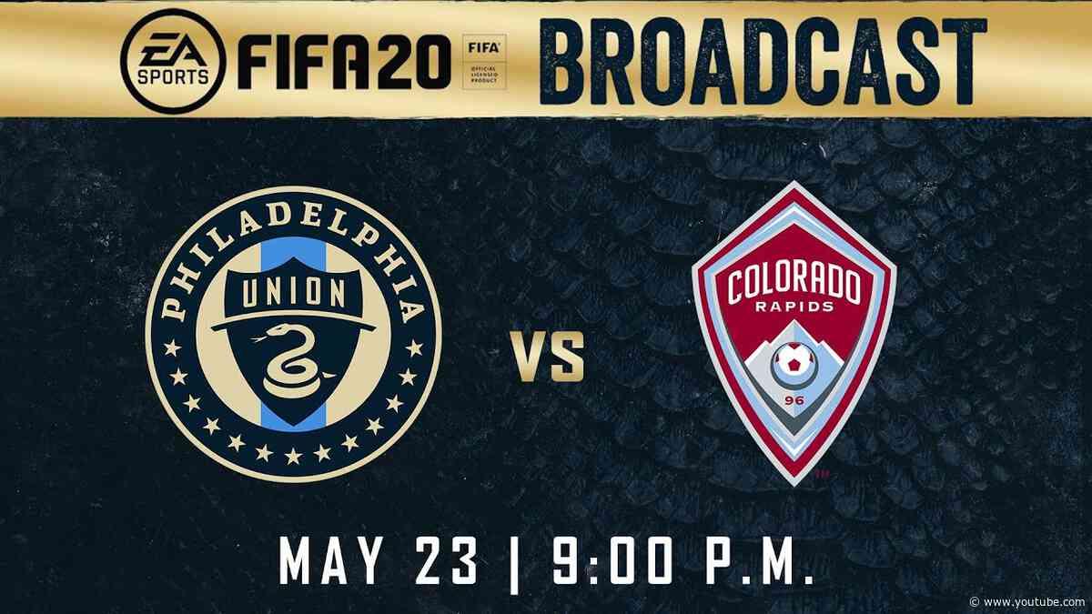 Sim: Philadelphia Union at Colorado Rapids