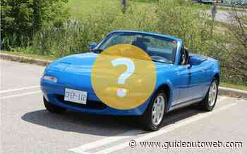 Quel cabriolet choisir avec un budget de 5 000$ ?
