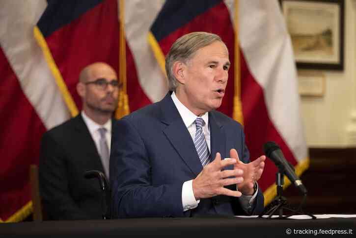 Gov. Greg Abbott says Texas is aiming to start college football on time, with fans in stands