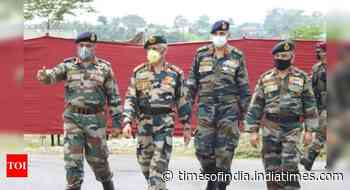 Colour of masks presents military with tough poser