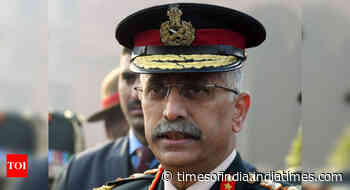 Amid heightened tensions with China, Army chief visits Ladakh