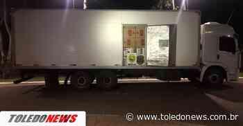 Caminhão baú com 800 caixas de cigarros é apreendido em Terra Roxa - Toledo News