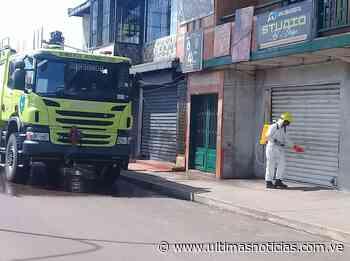 Realizaron jornada de desinfección en comercios de Puerto Ayacucho - Últimas Noticias