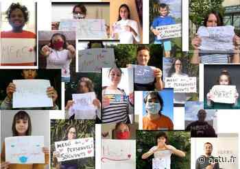 Les jeunes du pays de Craon apportent leur soutien aux soignants - actu.fr