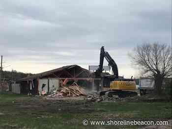 Iconic Port Elgin beach train station demolished - Shoreline Beacon