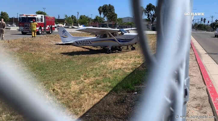 Covina man charged with grand theft of plane that landed at Fullerton Airport