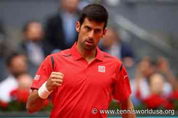 ThrowbackTimes Madrid: Novak Djokovic downs Kei Nishikori to reach the final - Tennis World USA