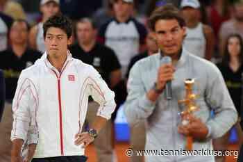 ThrowbackTimes Madrid: Rafael Nadal defends title over injured Kei Nishikori - Tennis World USA