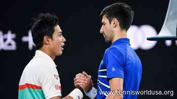 Kei Nishikori: I will have new tactics to try when I meet Novak Djokovic next time - Tennis World USA