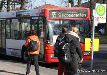 Ersatzverkehr: Busse statt S-Bahnen auf der S 5 in Hoppegarten - Märkische Onlinezeitung