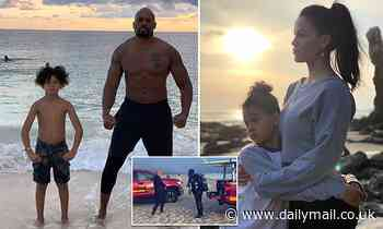 Shad Gaspard's threw son to lifeguard as sea swept him away