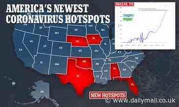Coronavirus US: Texas and Florida emerge as new hotspots