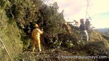 Por derrumbe, otra vez amaneció cerrada la vía Mocoa – Pasto - Conexión Putumayo
