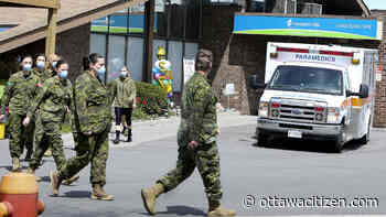 Canadian military personnel to get hazard pay for COVID-19 work but details still to be ironed out