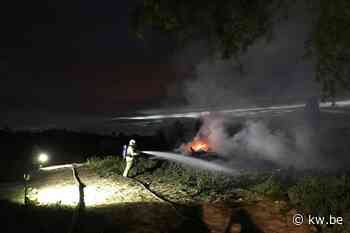 Tuin- en snoeiafval vat vuur in Alveringem - Krant van Westvlaanderen