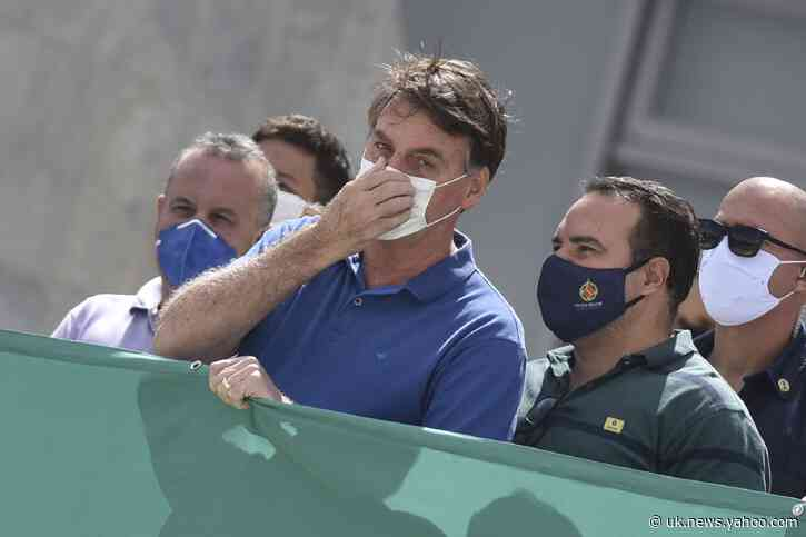 Video of Cabinet meeting puts Brazil's Bolsonaro under fire