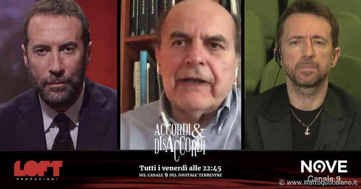 """Fase 2, Pier Luigi Bersani ad Accordi&Disaccordi: """"La bagarre tra M5S e Lega? Ricciardi ha colpito nel segno, ma sbagliato i toni"""""""