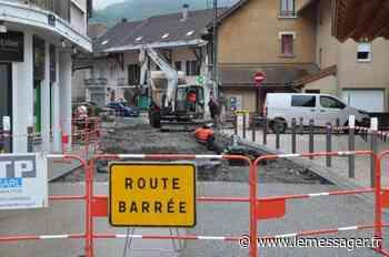 Faverges : le plan de circulation provisoirement modifié - Le Messager