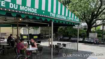New Orleans' Cafe Du Monde reopens for takeout and outdoor dining