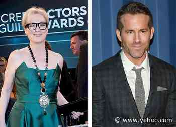 Meryl Streep, Ryan Reynolds & More Join 'James and the Giant Peach' Read-Along for Charity - Yahoo Lifestyle
